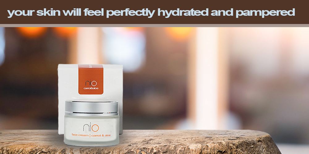 nio Face Cream Carrot & Aloe