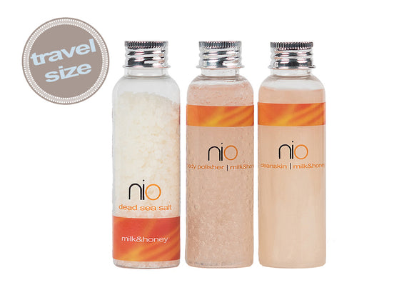Nio Spa Collection Travel Set - Milk & Honey