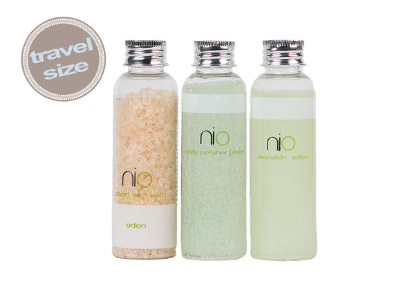 Nio Spa Collection Travel Set - Eden