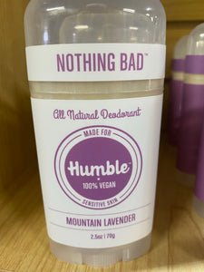 Humble Brand All Natural Deoderant