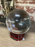 Clear Quartz Crystal Gazing Ball
