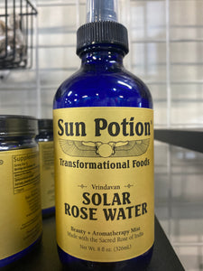 Sun Potion Solar Rose Water