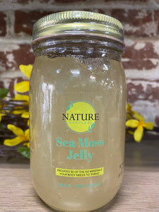 Sea Moss Jelly 16oz Jar