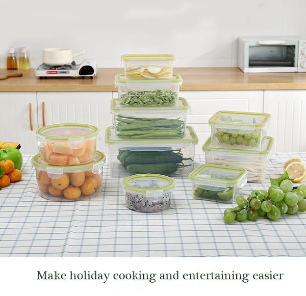 Food Storage Containers with Lits-Microwave/Oven/Freezer & Dishwasher Safe