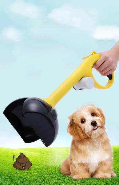 Non-Stick Advanced Jaw Scoop For Pet Waste Pick Up-Lightweight and easy to use