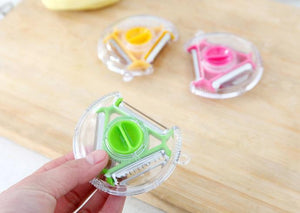 Multifunctional Rotatable Stainless Steel Fruit Peeler