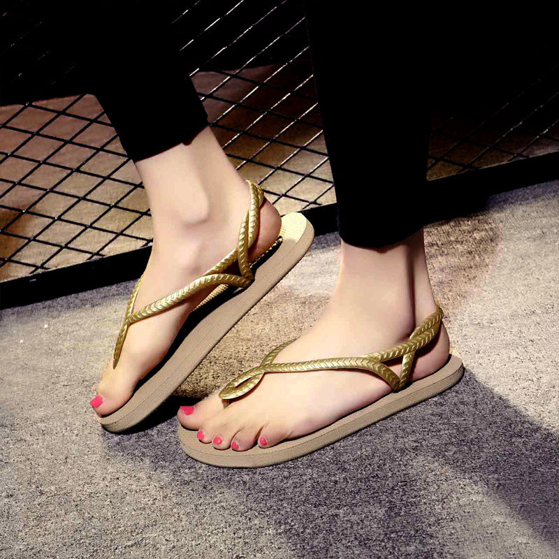 Flat Sandals for Women Palm,flip flops,perfect vacation shoes