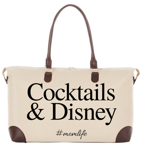 Maternity hospital bag - Cocktails & Disney