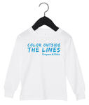 Coloring Outside the Lines (White)