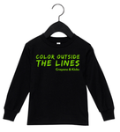 Coloring Outside the Lines (Black)