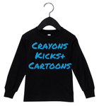 Crayons, Kicks + Cartoons  (Black)