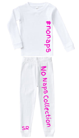 No Naps Collection Pajama Set