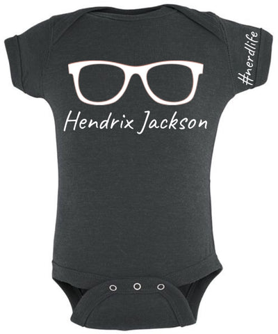 Custom onesie - nerdlife