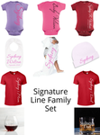Signature Line Family Set