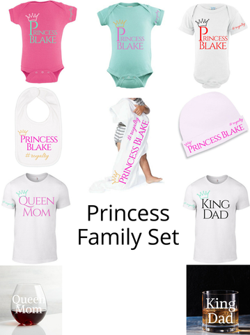 Princess Family Set