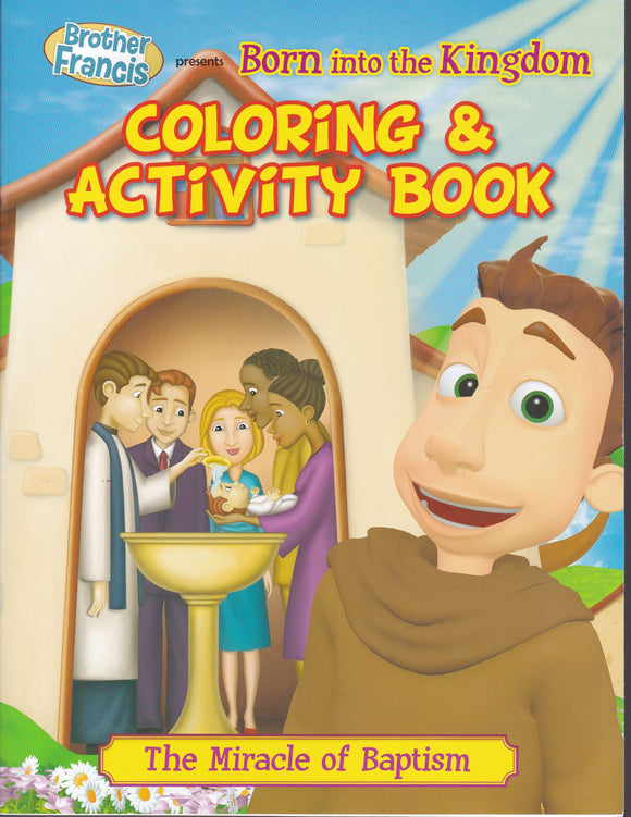 Brother Francis 5: Born into the Kingdom - Colouring and Activity Book