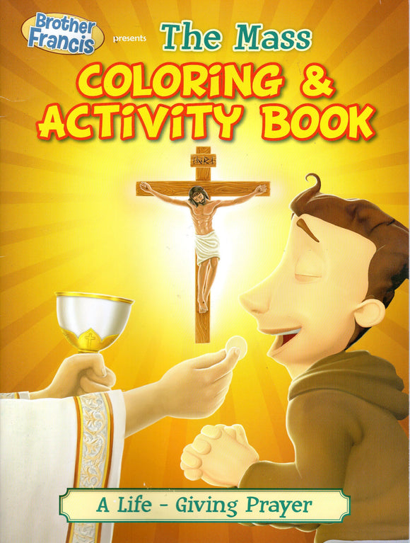 Brother Francis 6: The Mass - Colouring  and Activity Book