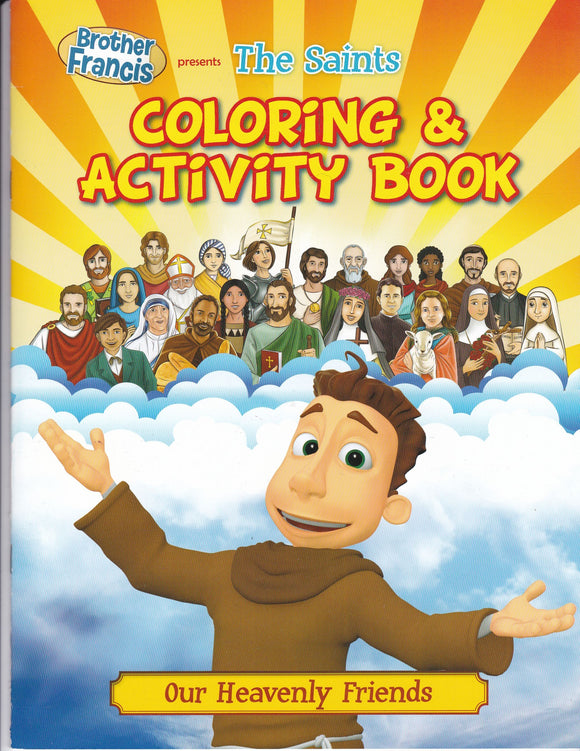 Brother Francis 8: The Saints - Colouring and Activity Book