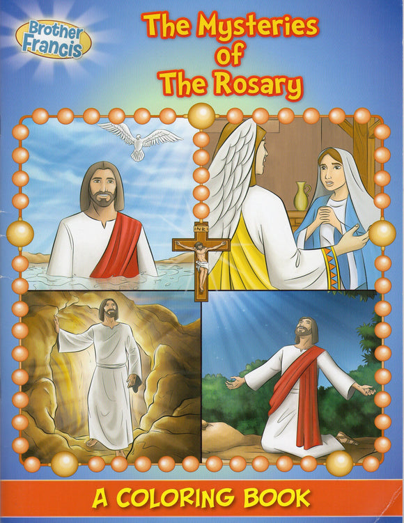 Brother Francis - The Mysteries of The Rosary Colouring Book