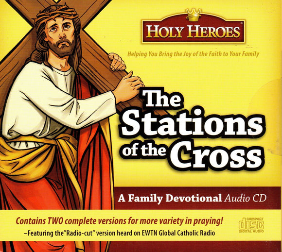 Holy Heroes - The Stations of the Cross CD