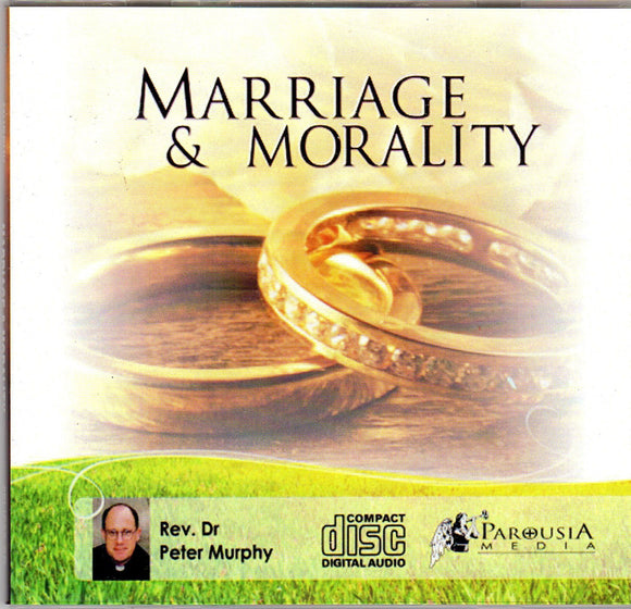 Marriage & Morality CD