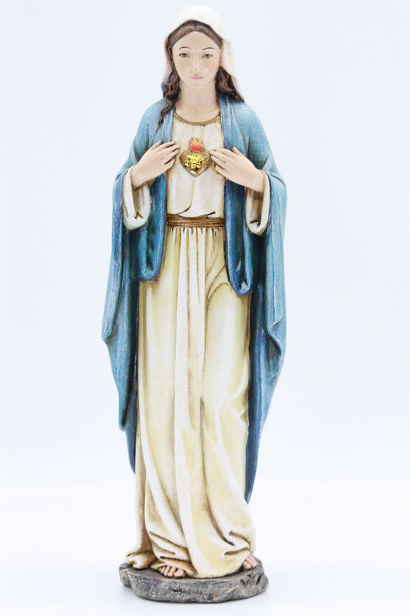 Statue - Immaculate Heart of Mary 350mm #61369
