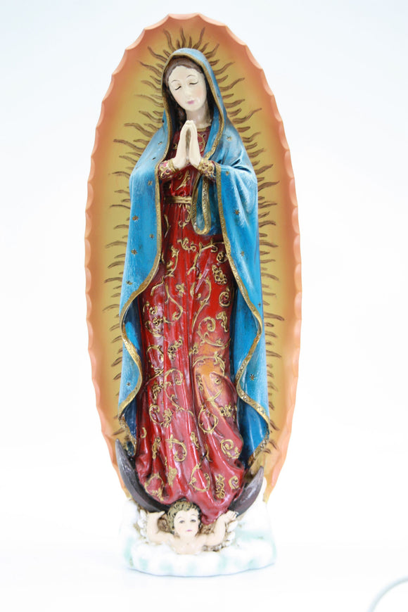 Statue - Our Lady of Guadalupe 100mm