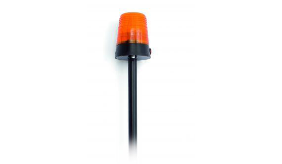 BERG® Gyrophare orange sur poteau (Buddy)
