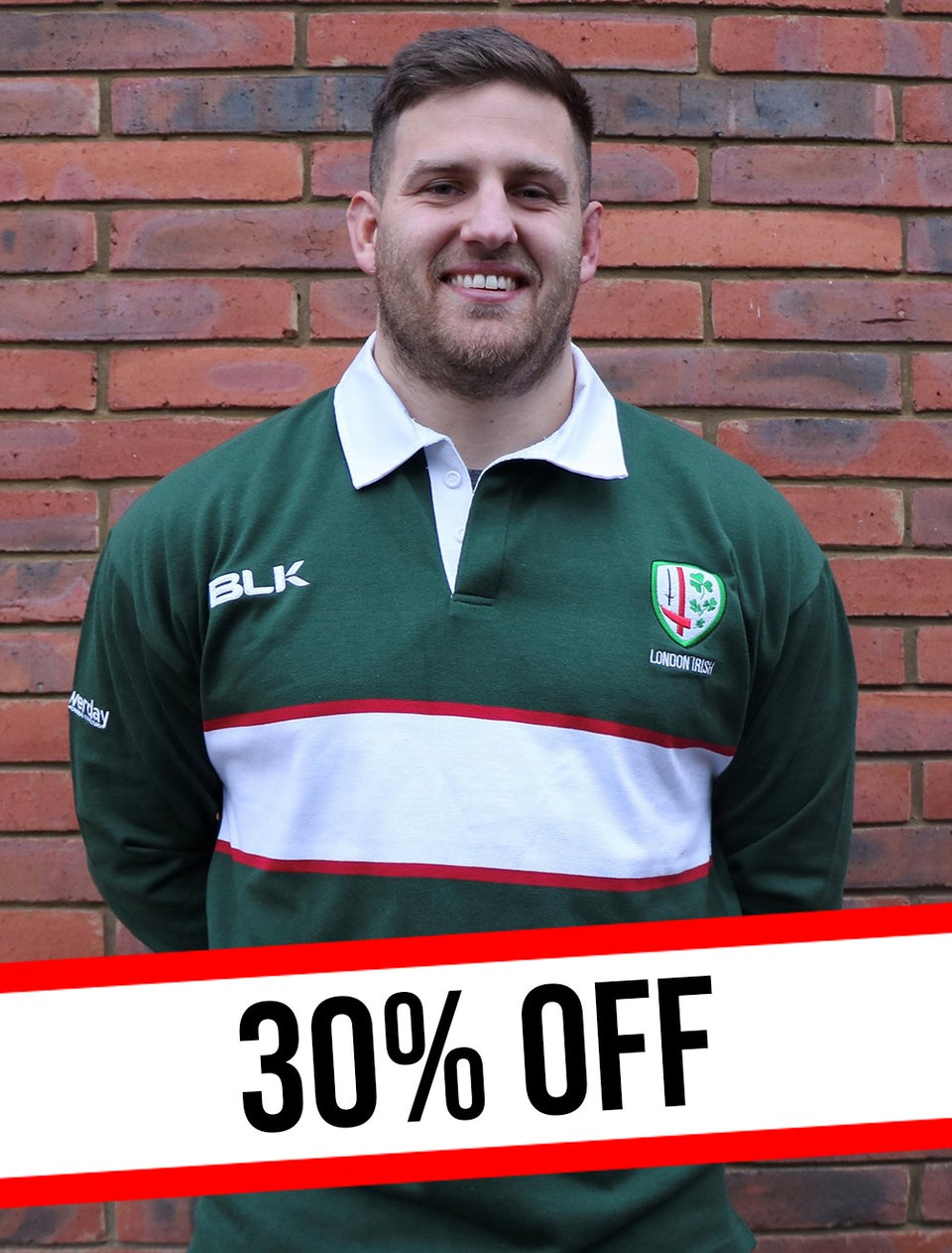 30% OFF - Traditional Cotton Rugby Jerseys