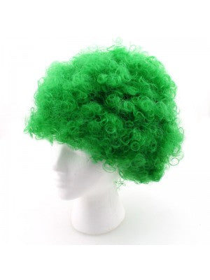 St. Patrick's Party Fuzzy Wig