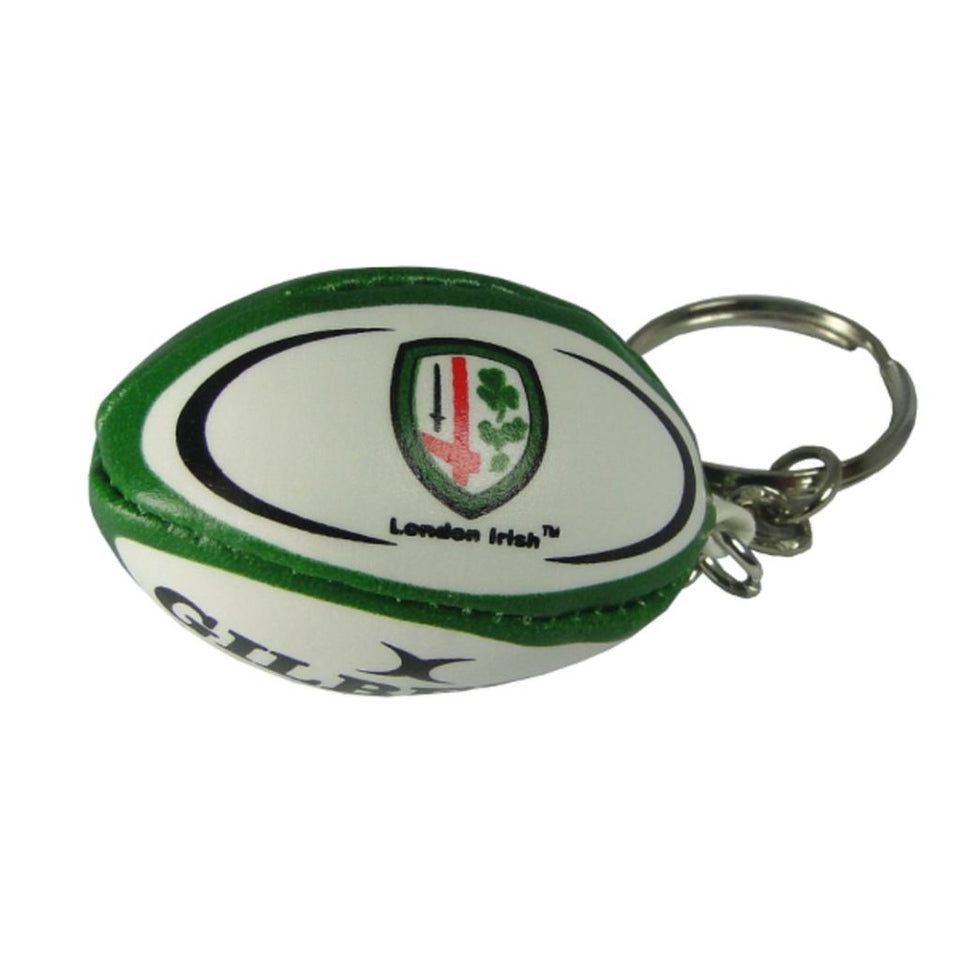 London Irish Rugby Ball Keyring