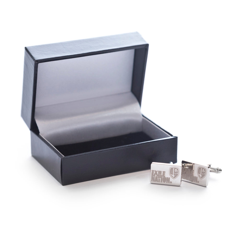 EXILE NATION Rectangular Cufflinks