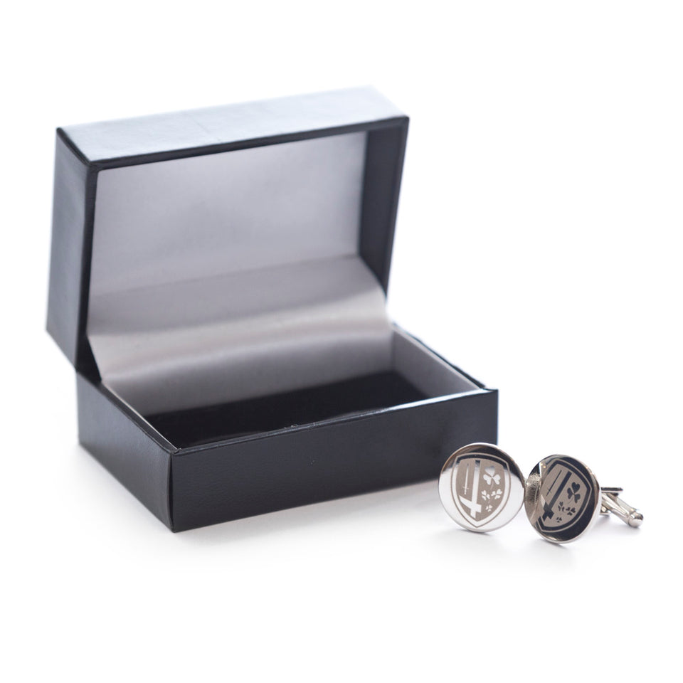 London Irish Circular Crest Cufflinks