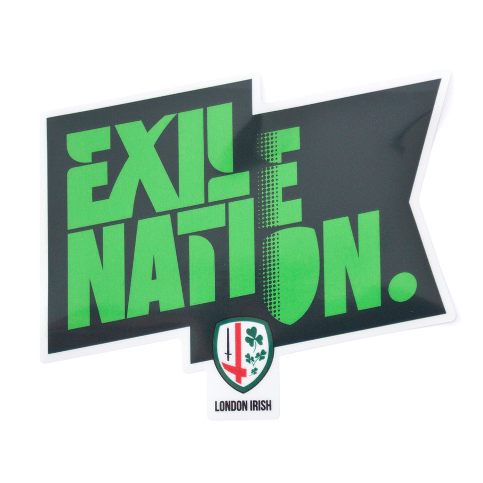 EXILE NATION Car Window Sticker