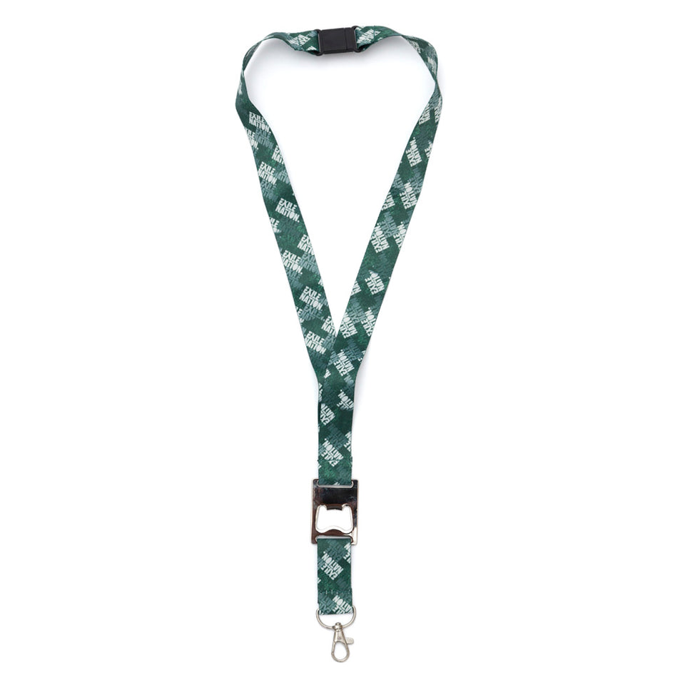 EXILE NATION Lanyard with Bottle Opener