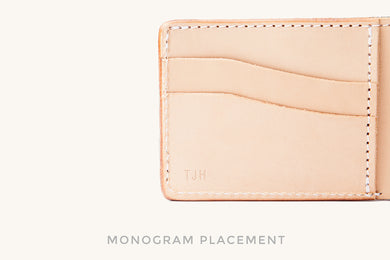 Monogram Placement