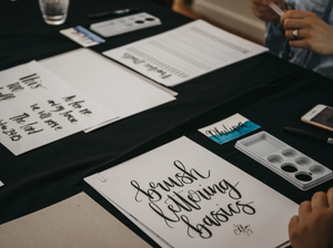 Brush Lettering Workshop OCT 27 (Brisbane)