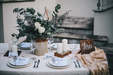 Load image into Gallery viewer, Wooden Wedding Table Numbers