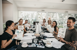 Corporate Brush Lettering Workshop