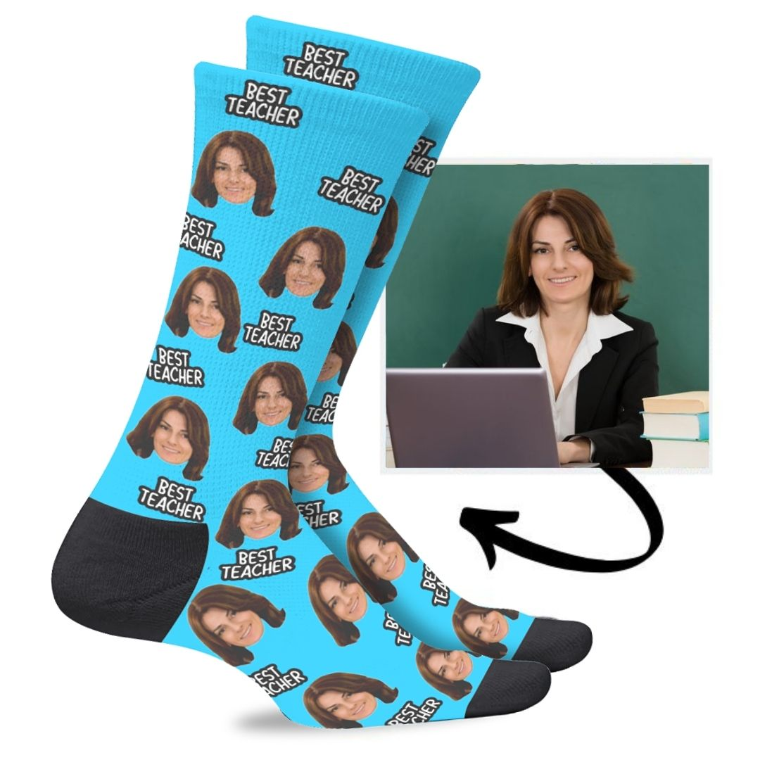 Custom Teacher Socks