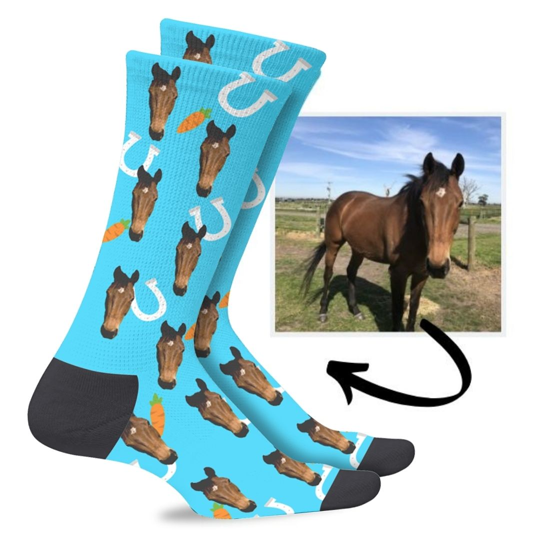 Custom Horse Socks
