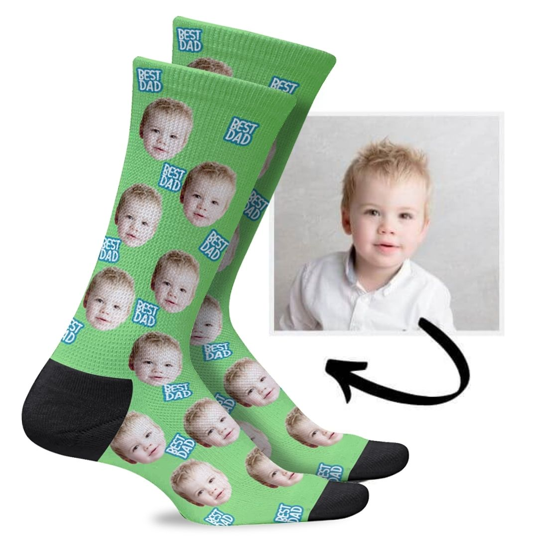 Custom Dad Socks