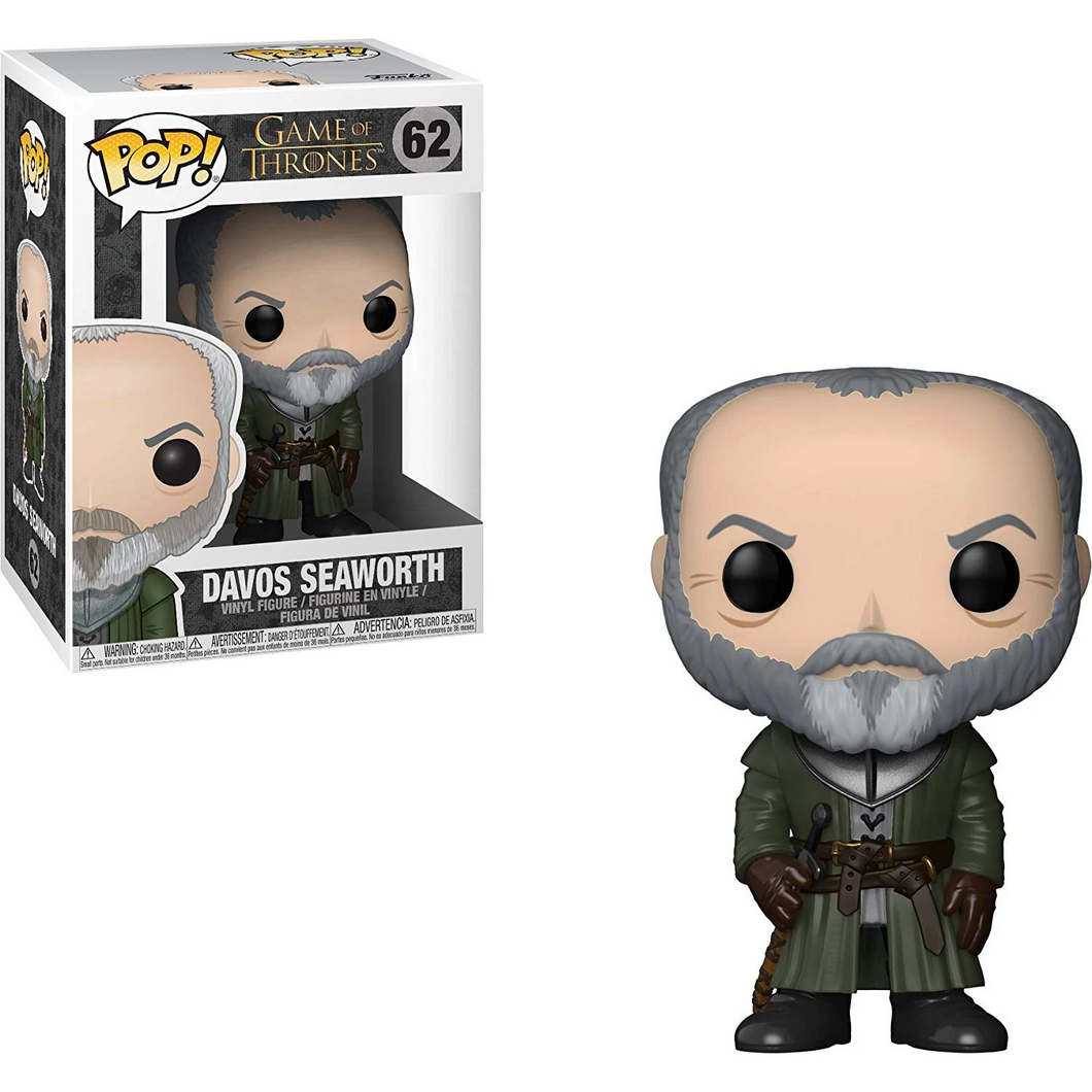 Game of Thrones #62 - Davos Seaworth - Funko Pop! Game of Thrones
