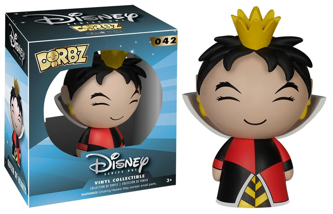 Disney Dorbz Vinyl Sugar #042 - Queen of Hearts - Funko Pop! Dorbz