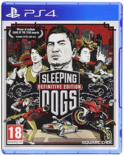 Sleeping Dogs - Definitive Edition (EUR)