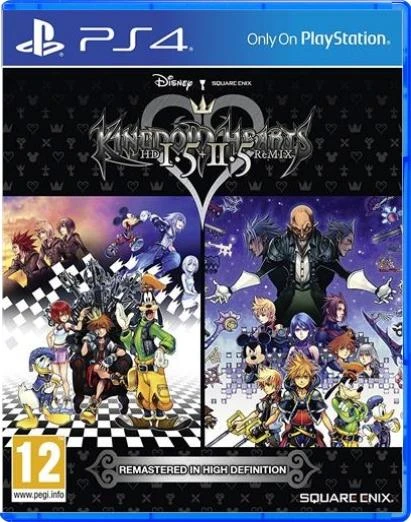 Kingdom Hearts HD 1.5 + 2.5 Remix (EUR)
