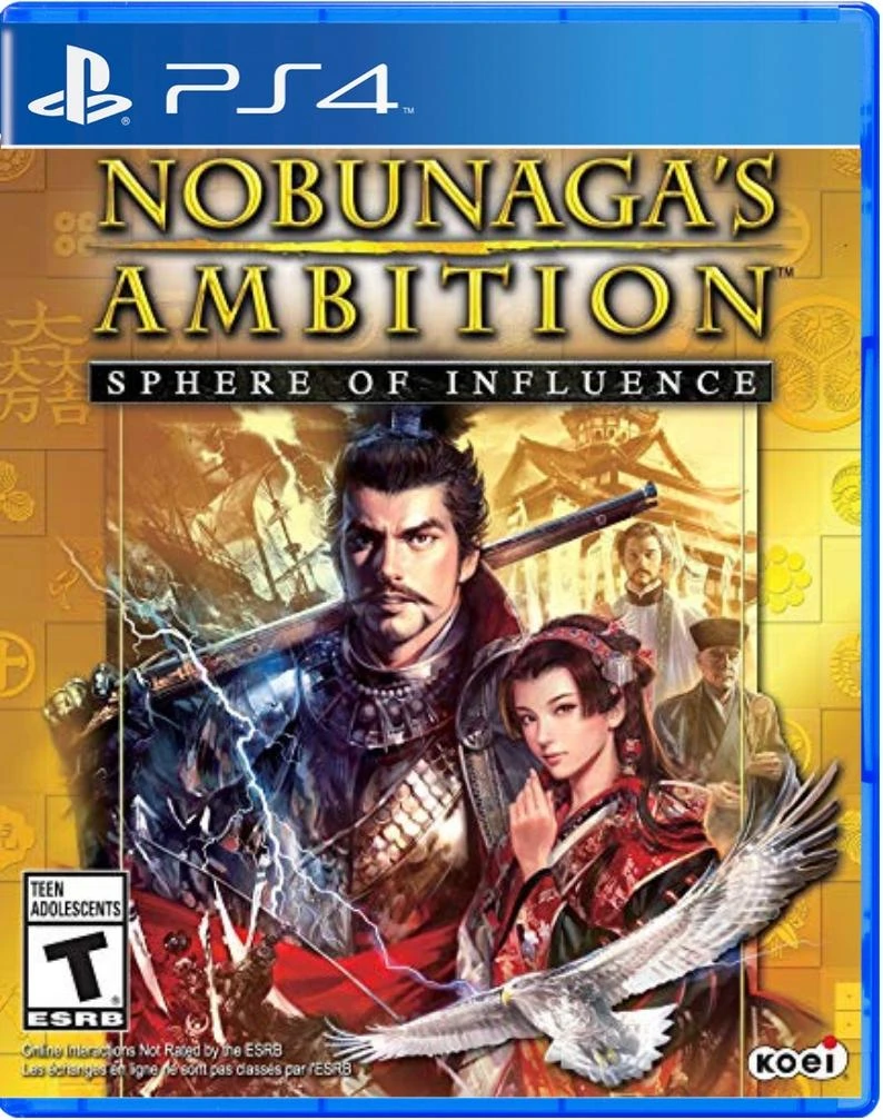 Nobunaga's Ambition: Sphere of Influence (US)