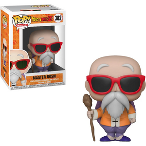 Dragon Ball Z #382 - Master Roshi with Staff - Funko Pop! Animation