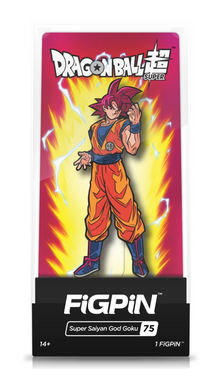 FiGPiN - Dragon Ball Super #75 - Super Saiyan God Goku