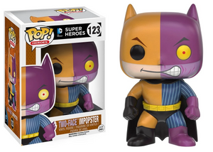 DC Comics Super Heroes #123 - Two-Face Impopster - Funko Pop! Heroes